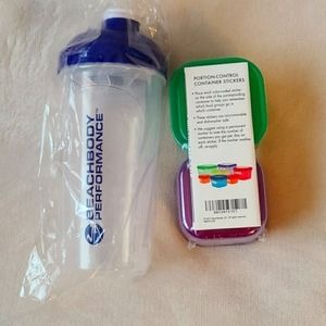 Shaker cup & portion control containers